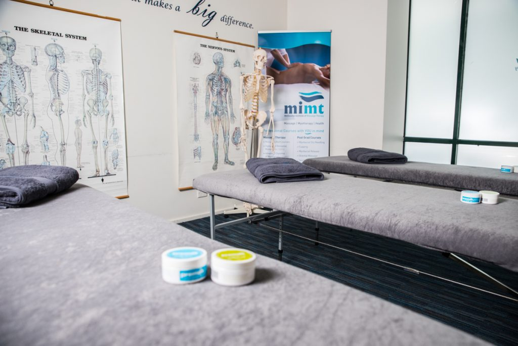 Mimt massage therapy class room
