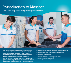 Introduction to Massage Therapy Course Melbourne enrolment form