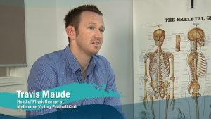 Travis Maude head of physiotherapy at Melbourne Victory FC