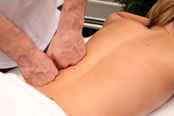 Sports Upper body massage