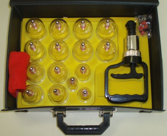 cupping set for massage therapy