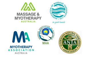 Massage therapy logos